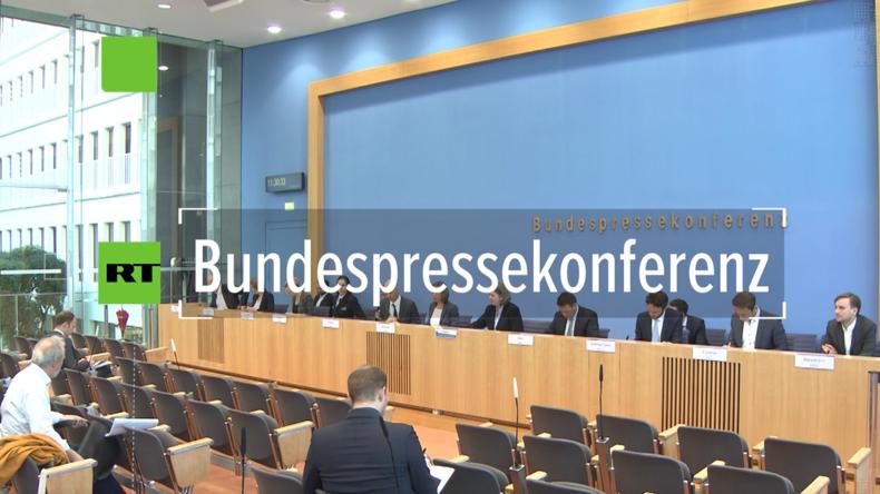 Bundespressekonferenz: Liefert deutsche Luftwaffe Bilder für geplante türkische Offensive in Syrien?