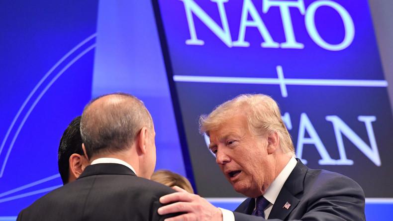 """Trump droht NATO-Partner Türkei mit """"wirtschaftlicher Auslöschung"""""""