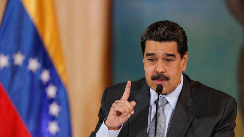 Maduro: Truppen an Grenze zu Kolumbien bleiben nach Übungen in höchster Alarmbereitschaft