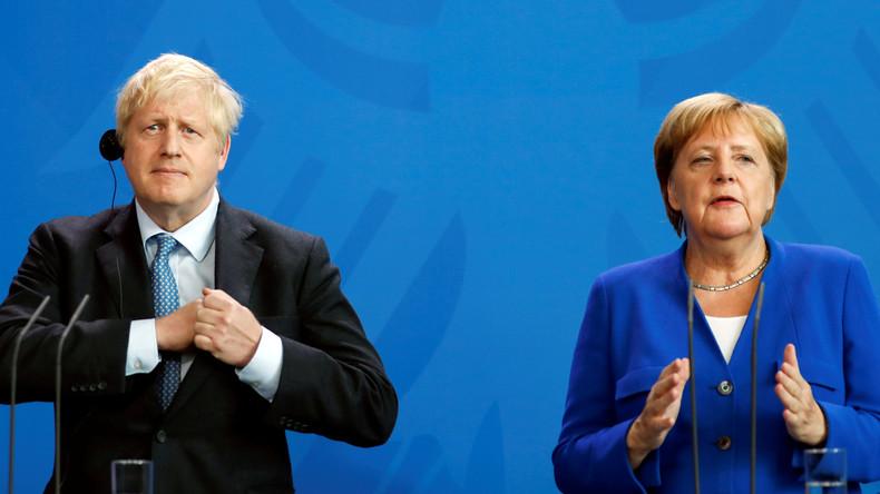 Nach Telefonat zwischen Johnson und Merkel: London glaubt nicht mehr an Brexit-Gespräche