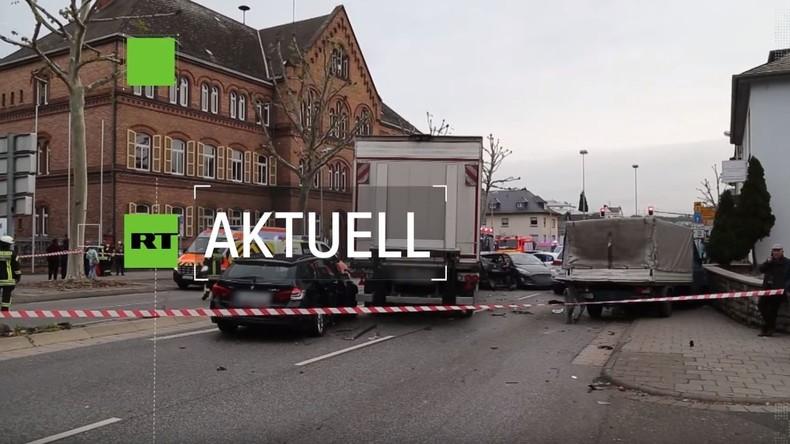 Mutmaßliche Terrorattacke: LKW-Täter von Limburg ist Polizei bereits bekannt gewesen