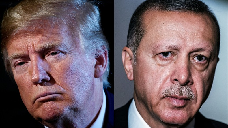 Trump und Erdoğan: Zuerst mit Zerstörung drohen, dann ins Weiße Haus einladen