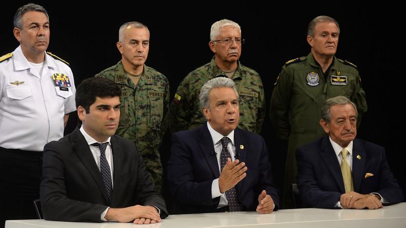 """Lenín Moreno: """"Maduro und Correa stecken hinter diesem Putschversuch"""""""