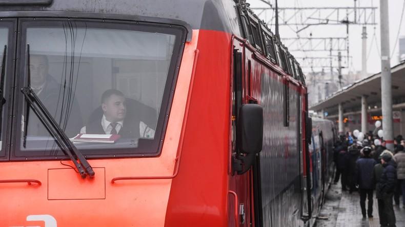 """""""Erhöhte Strahlenwerte"""" – Hochgeschwindigkeitszug aus Deutschland in Moskau evakuiert"""