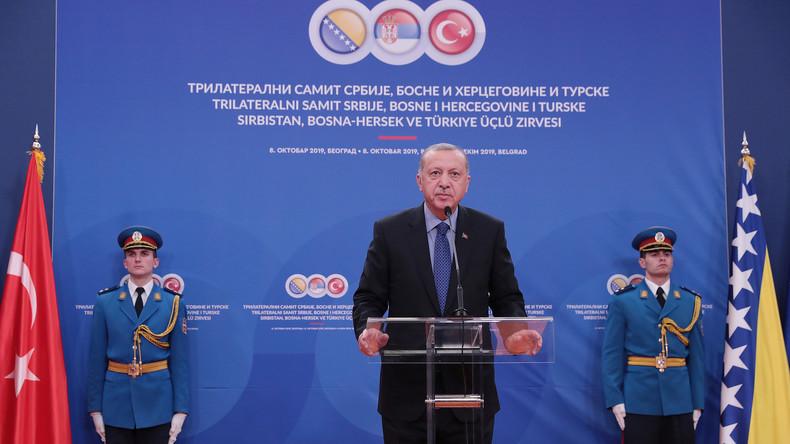 Erdogan gibt bekannt: Türkei beginnt Militäroffensive gegen Kurdenmiliz YPG in Nordsyrien