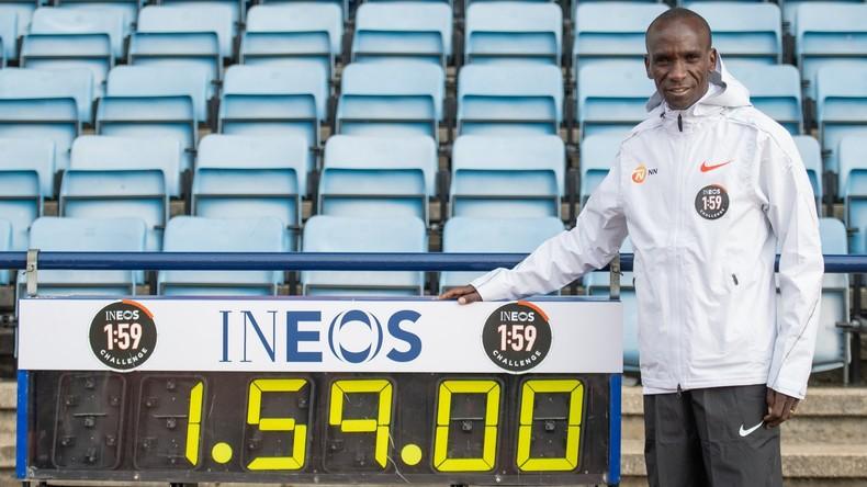 Rekordversuch unter Laborbedingungen: Kenianer Kipchoge will Marathon unter 2 Stunden laufen