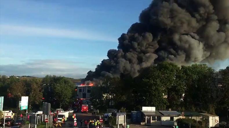 Explosion in der Nähe des Flughafens von Linz: neun Verletzte, drei davon schwer