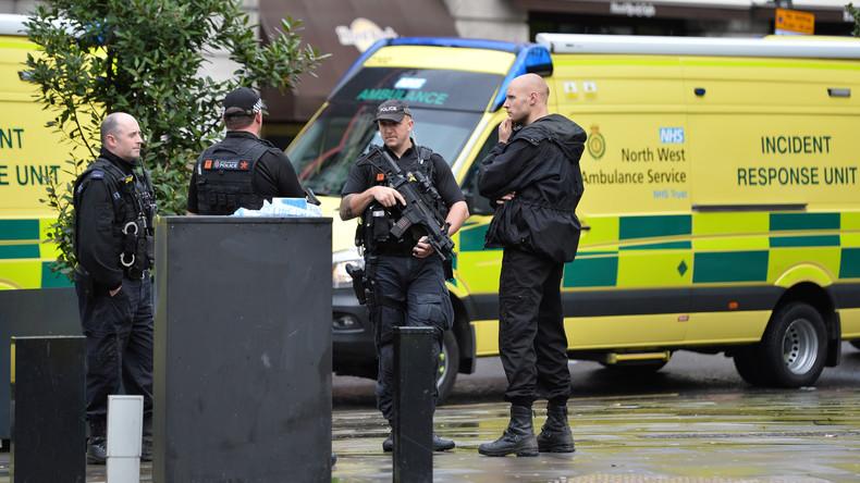 Manchester: Mindestens fünf Verletzte bei Messerattacke in Einkaufszentrum
