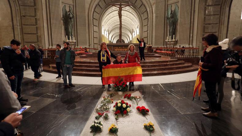 Spanische Regierung: Exhumierung Francos noch vor dem 25. Oktober