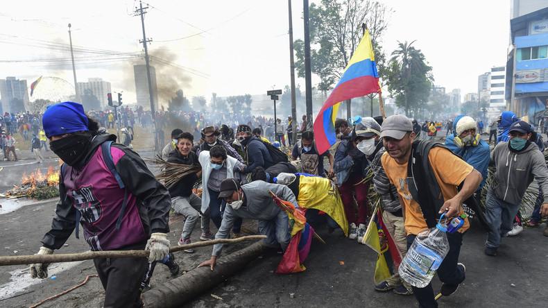 Ecuador – Krawalle reißen nicht ab (Video)