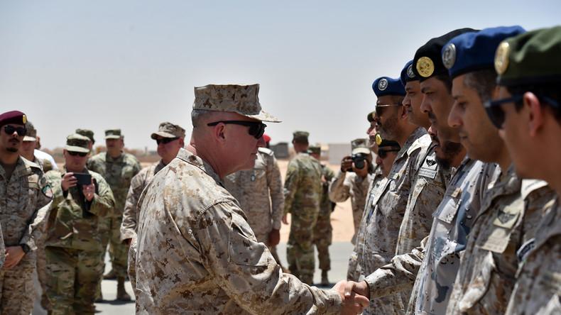 USA entsenden schweres Militärgerät und 3.000 Einheiten nach Saudi-Arabien