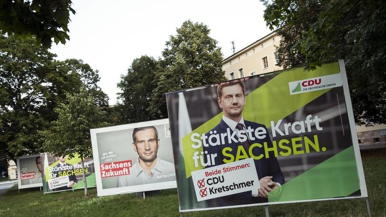 Sachsen: CDU und SPD stimmen Verhandlungen über Kenia-Koalition zu