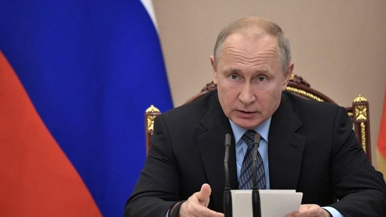 Putin: Ausländische Mächte sollten sich aus Syrien zurückziehen