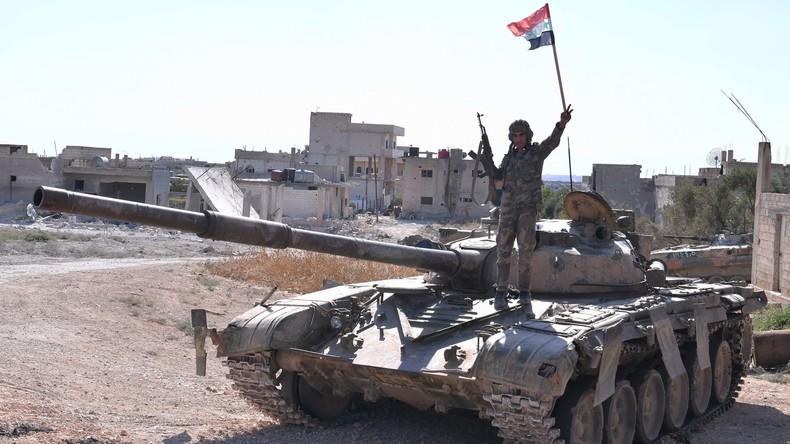 Syrische Armee rückt gegen türkische Besatzungskräfte vor - Staatsmedien