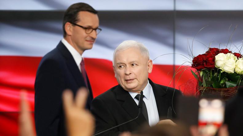 Deutlicher Wahlsieg für national-konservative PiS bei Parlamentswahlen in Polen