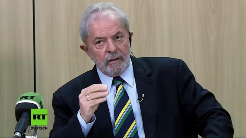 Exklusiv-Interview mit Brasiliens Ex-Staatschef Lula da Silva im Gefängnis