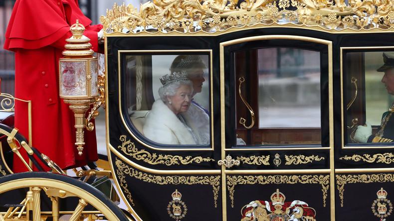 LIVE: Königin Elizabeth II. hält Rede zur Wiedereröffnung des britischen Parlaments