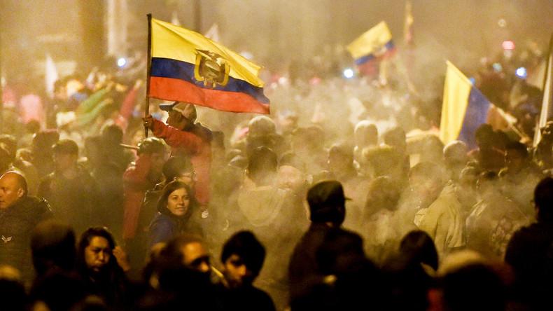 LIVE: Erneute Proteste in Ecuadors Hauptstadt Quito