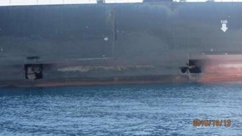 Angriff auf iranischen Öltanker: Teheran veröffentlicht Bilder
