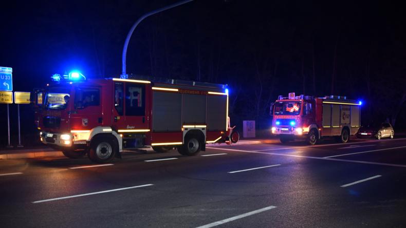 Einsatz in Michendorf: Polizei überwältigt Bewaffneten