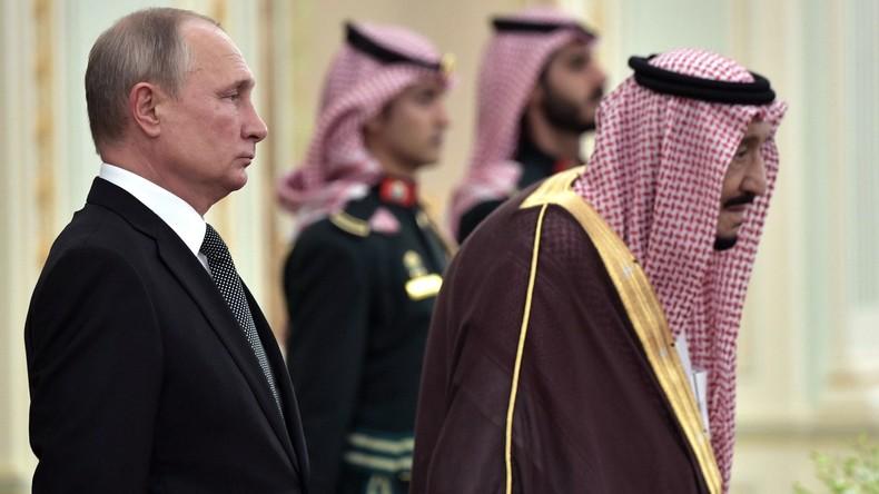 Saudisches Orchester empfängt Putin mit schräger russischer Hymne – Kremlchef bleibt gelassen