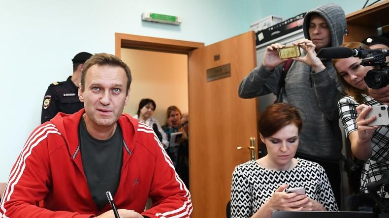 Russland: Durchsuchungen in 30 regionalen Niederlassungen der Nawalny-Stiftung im Geldwäschefall