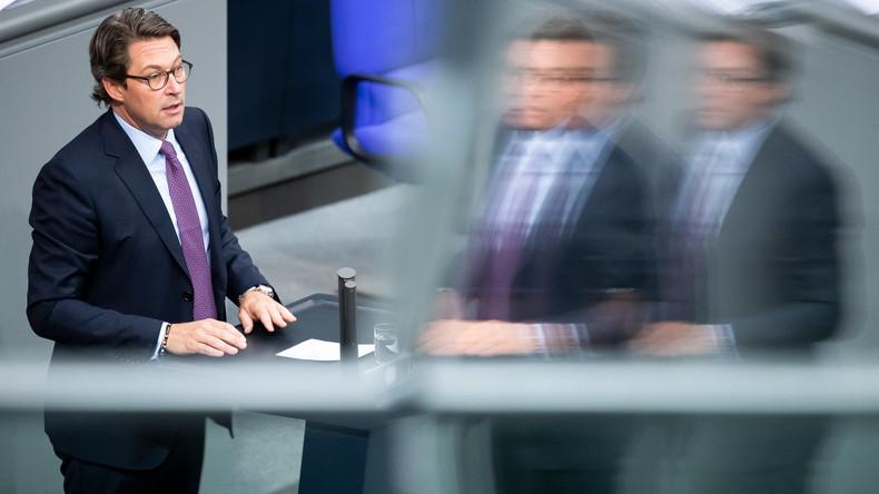 Untersuchungsausschuss soll Scheuers Vorgehen bei Pkw-Maut durchleuchten