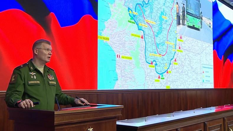 """Russisches Militär: NYT-Bericht über """"Luftangriffe auf Krankenhäuser"""" in Syrien ist Fehlinformation"""