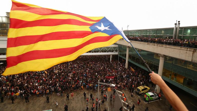 Kritik an Haftstrafen in Katalonien: Urteil stellt Aushebelung der Grundrechte dar (Video)