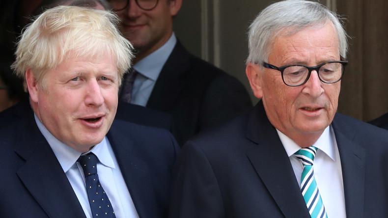 """""""Faires und ausgewogenes Abkommen"""" – Johnson und Juncker verkünden Brexit-Deal"""