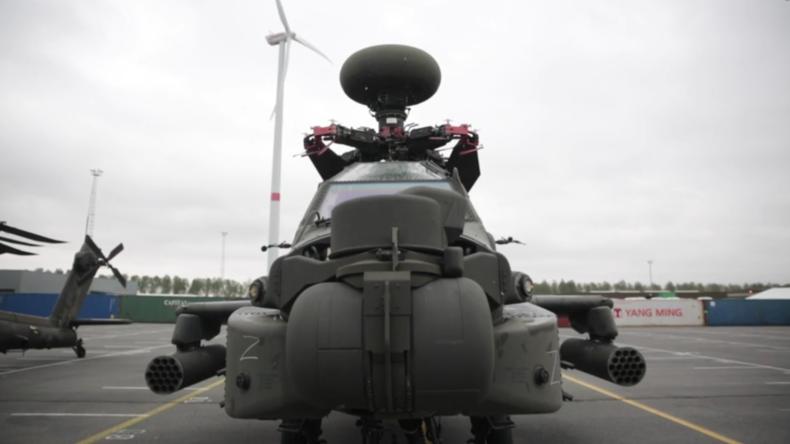 Wegen Atlantic Resolve: NATO-Aufmarsch in Belgien und Deutschland