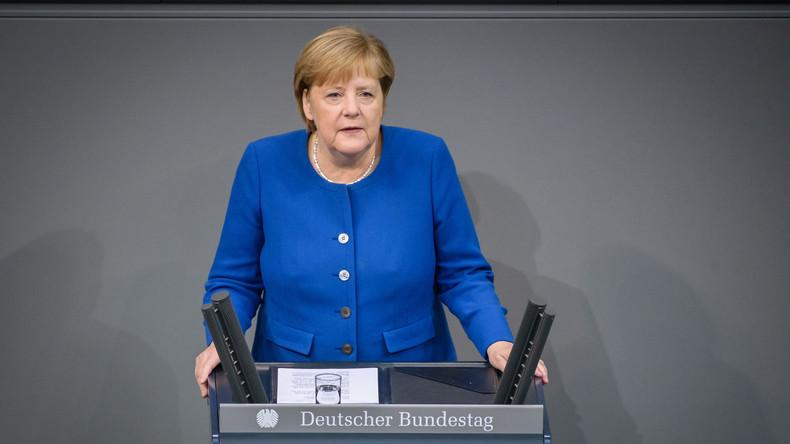 Merkel im Bundestag zum Brexit und der Syrienoffensive der Türkei