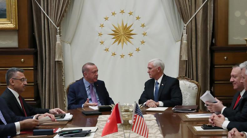 US-Vizepräsident Pence: Feuerpause mit Erdoğan in Nordsyrien vereinbart