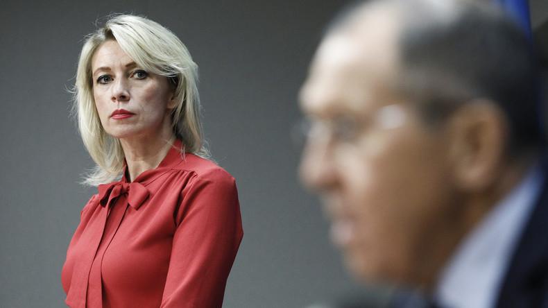 """""""Vielleicht sind sie ja angekommen"""" – Marija Sacharowa kommentiert """"Verhaftung"""" von US-Diplomaten"""