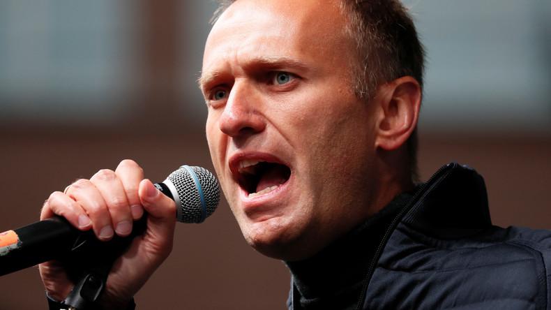 Nawalny-Stiftung klagt gegen Status als ausländischer Agent