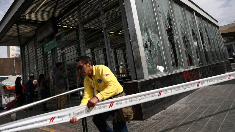 Chiles Präsident zieht nach Protesten U-Bahn-Tariferhöhung zurück