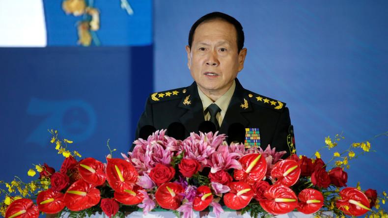 Chinas Verteidigungsminister: USA zetteln Farbrevolutionen an