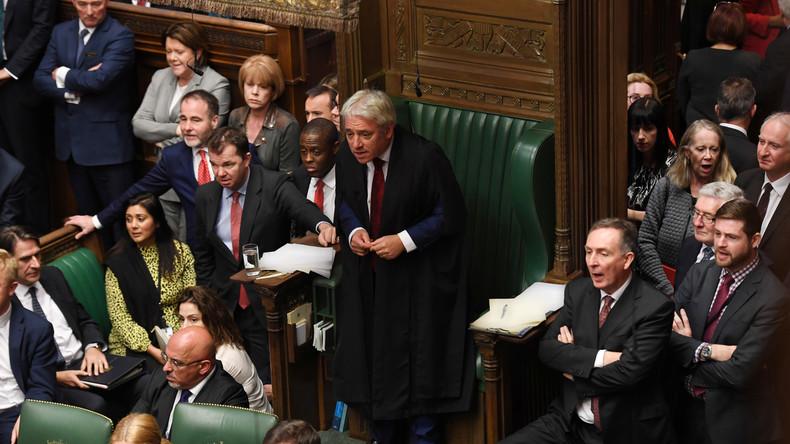 Britisches Parlament verweigert erneut Abstimmung zu Brexit-Abkommen