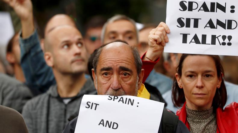 Barcelona: Unabhängigkeitsbewegung spaltet das Land (Video)