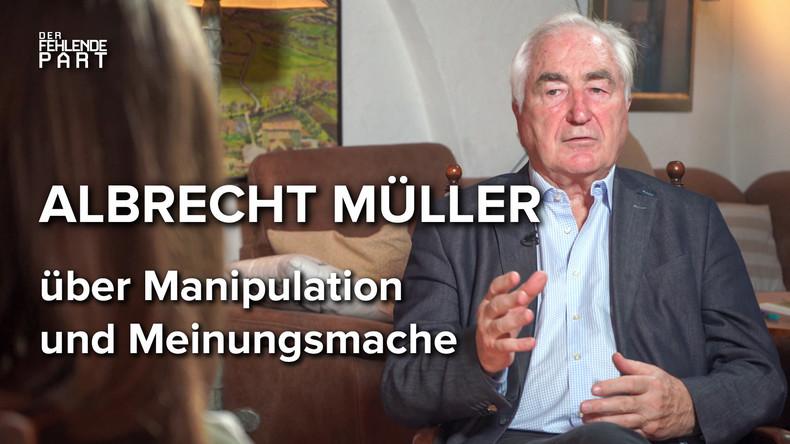 """""""Das Volk ist überhaupt nicht der Souverän"""" – Albrecht Müller im Gespräch"""
