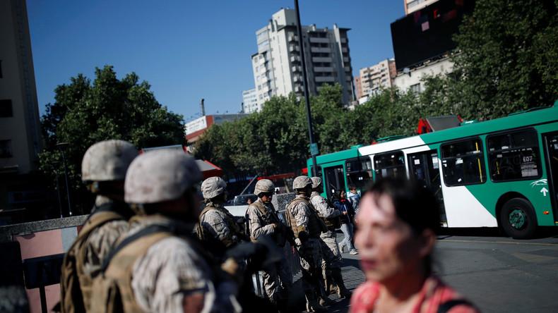 LIVE aus Chile: Proteste gegen neoliberale Politik