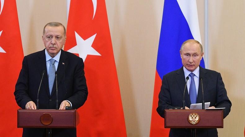 Nach Putin-Erdoğan-Gipfel: Abkommen im Nordsyrien-Konflikt erzielt
