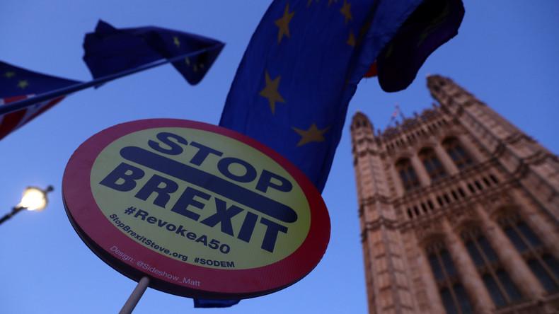 EU-Ratspräsident Tusk empfiehlt Brexit-Verschiebung als Mittel gegen harten Brexit