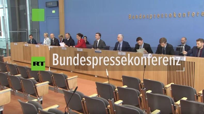 Bundespressekonferenz zu Vorschlag von Kramp-Karrenbauer zu Syrien-Sicherheitszone: Hybris & Chaos
