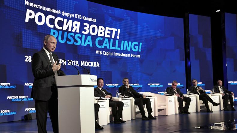 Russland holt in Rangliste der Weltbank zum Geschäftsumfeld auf