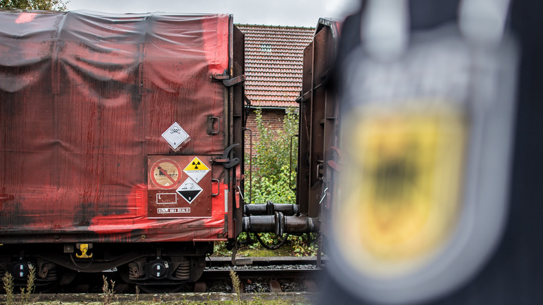 Greenpeace: Deutschland exportiert erneut Atommüll nach Russland