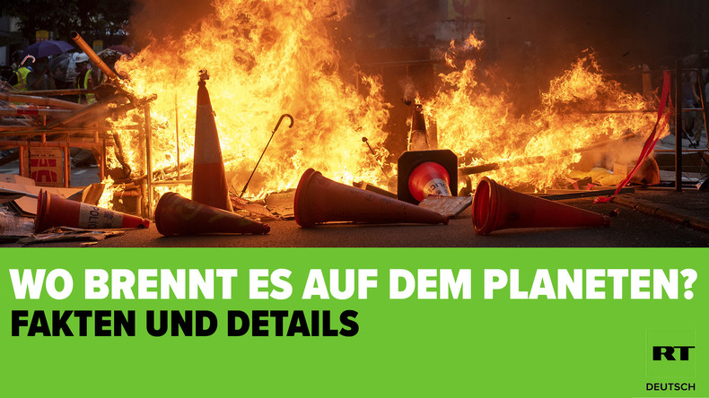 Wo brennt es auf dem Planeten? Proteste weltweit in Zahlen