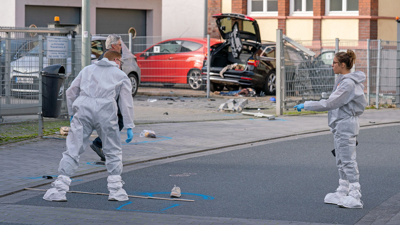 Brutaler Mord in Limburg: Mann überfährt seine Ehefrau und erschlägt sie mit einer Axt
