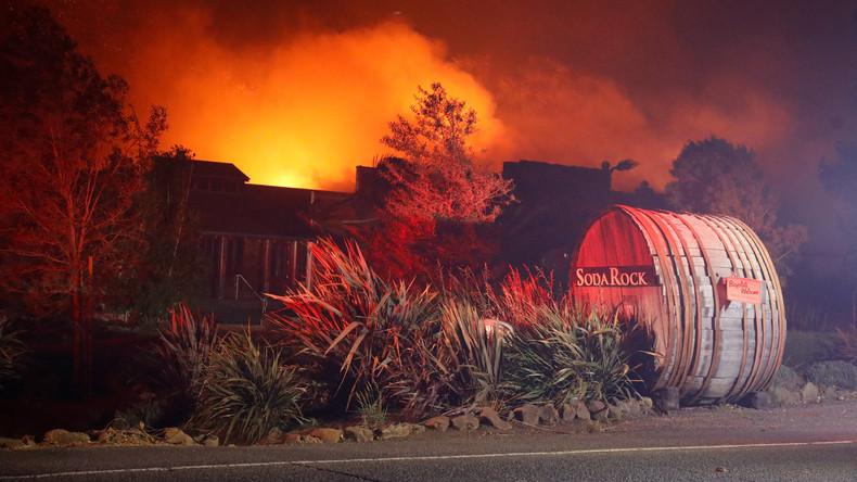 Verheerende Waldbrände wüten in Kalifornien – Wetterexperten geben keine Entwarnung