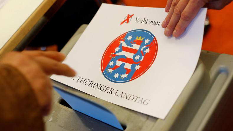 Live-Ticker zur Landtagswahl in Thüringen: Linke gewinnt – schwierige Regierungsbildung erwartet